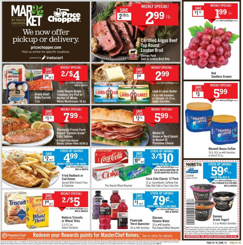 Price Chopper April Weekly Ad valid from Mar 29 – Apr 4, 2020