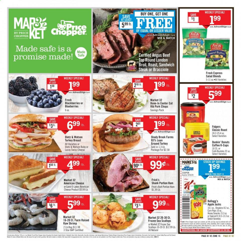 Price Chopper Final September Ad valid from Sep 20 – 26, 2020