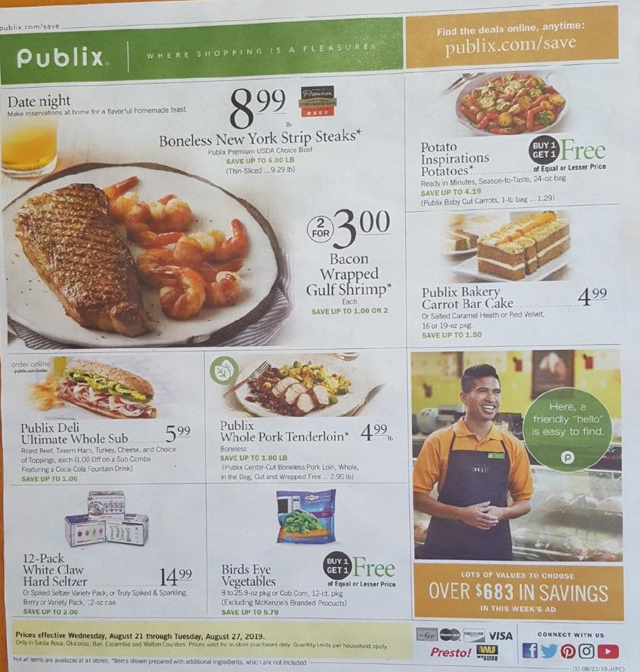 publix weekly ad preview aug 21 2019