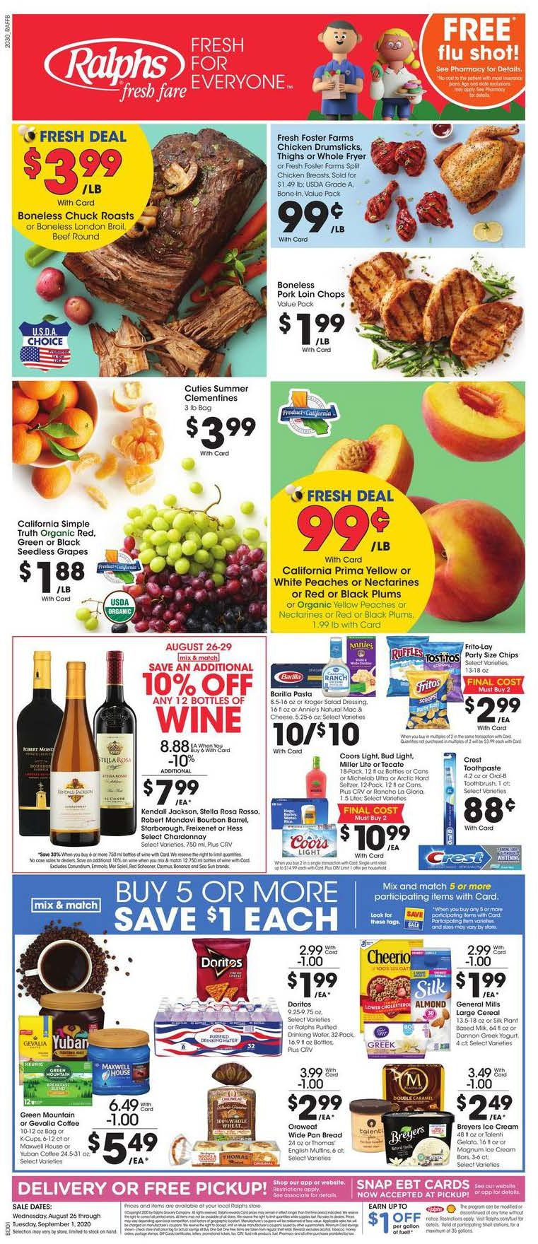 ralphs weekly ad aug 26 2020