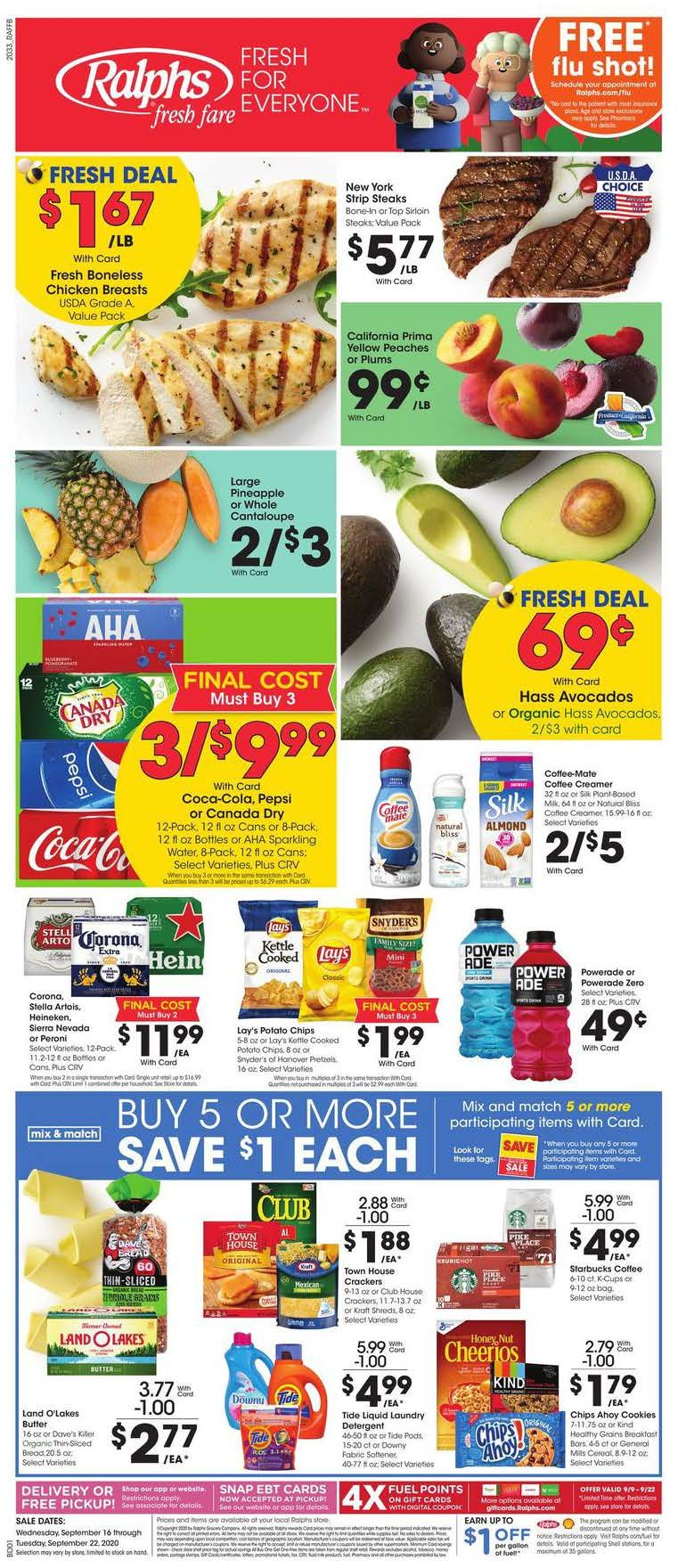 ralphs weekly ad sep 16 2020