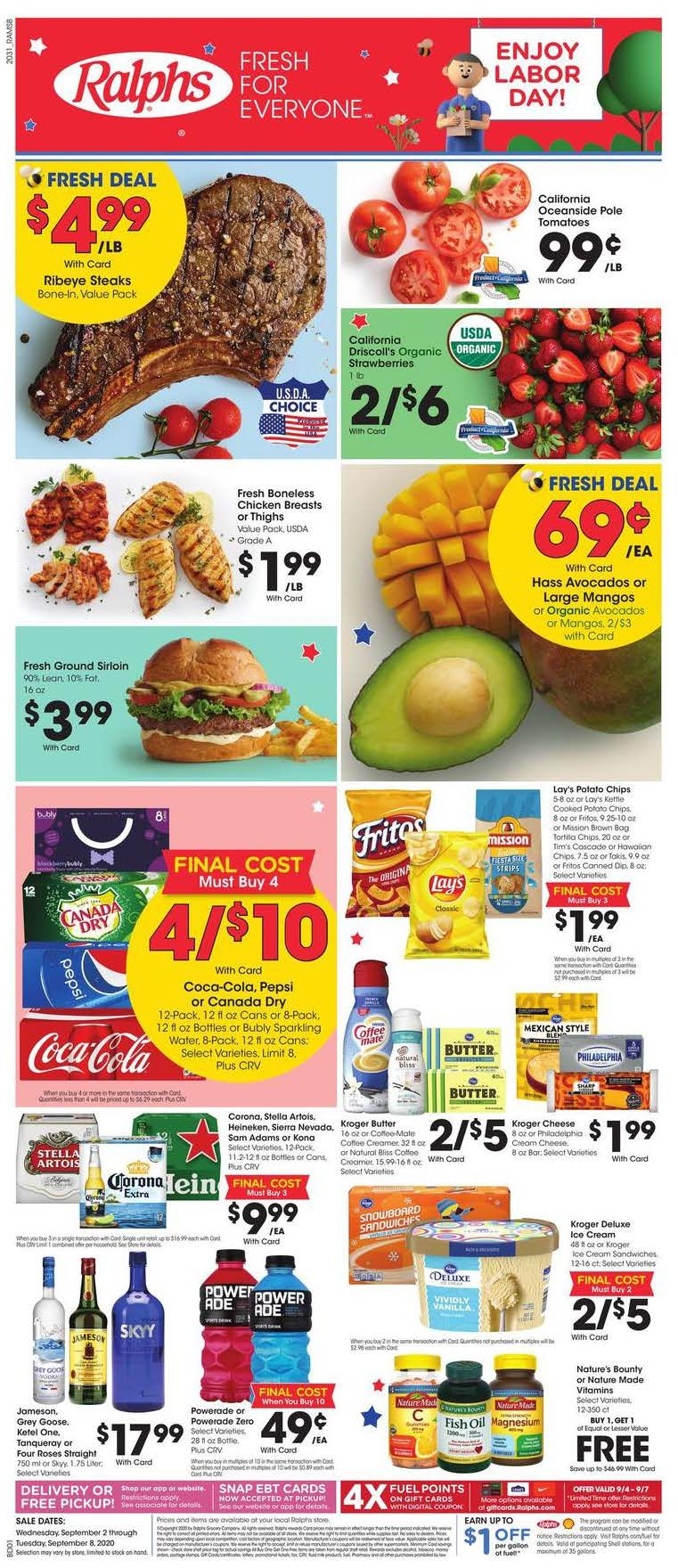 ralphs weekly ad sep 2 2020