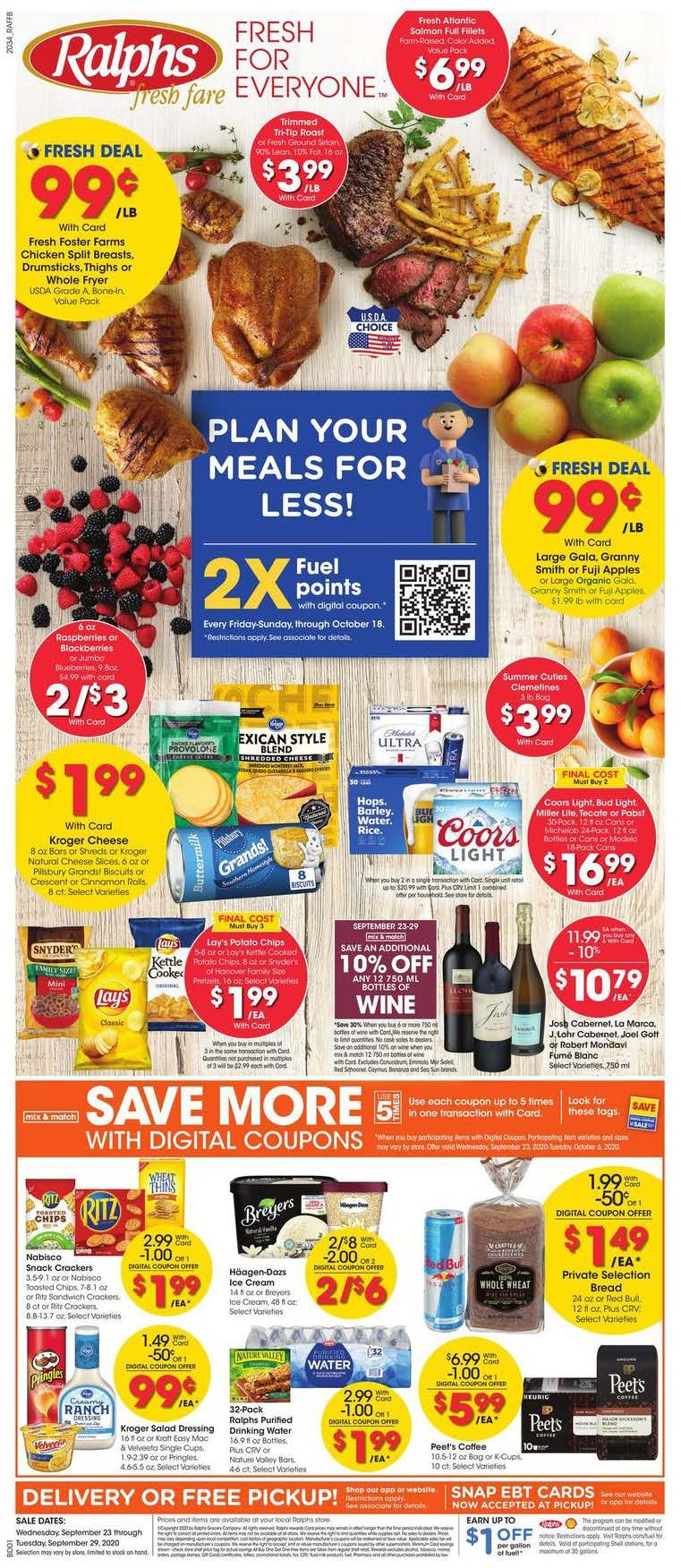 ralphs weekly ad sep 23 2020