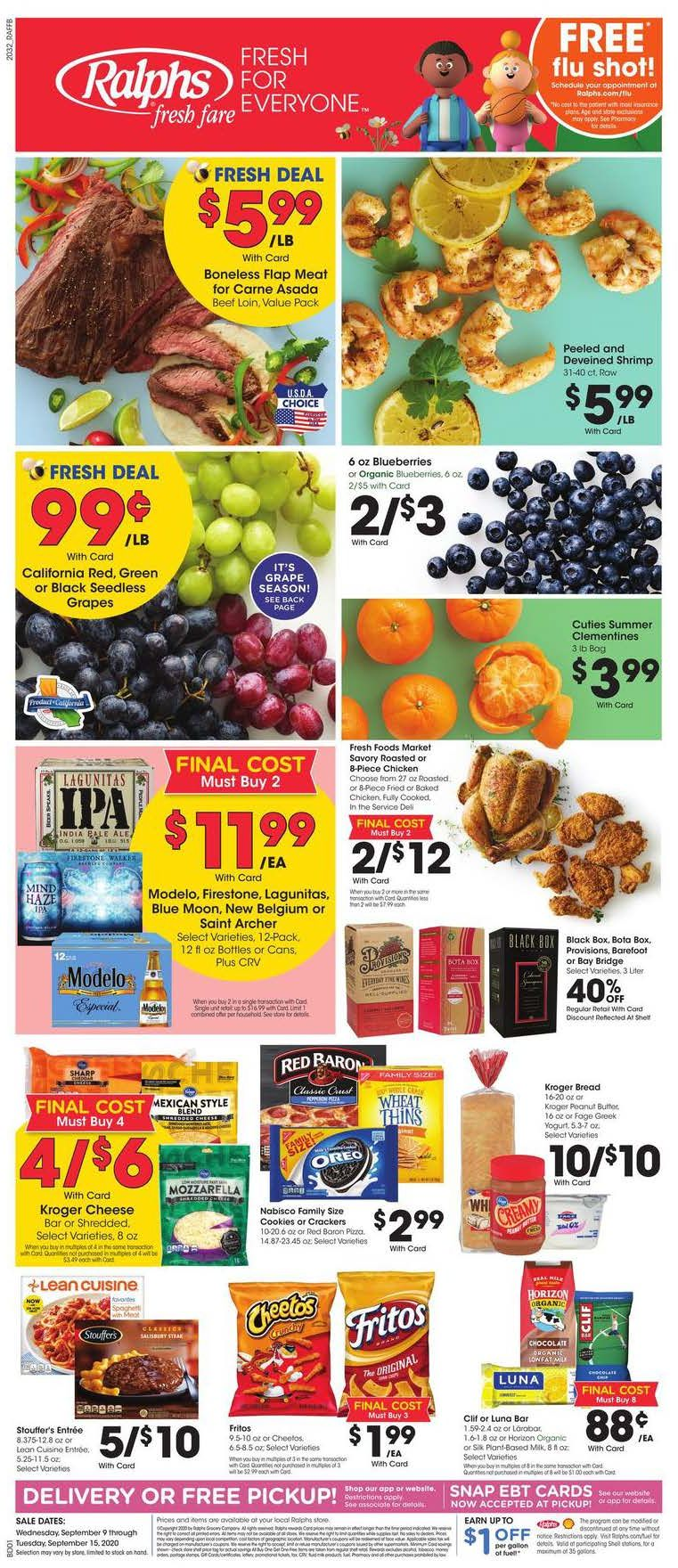 ralphs weekly ad sep 9 2020