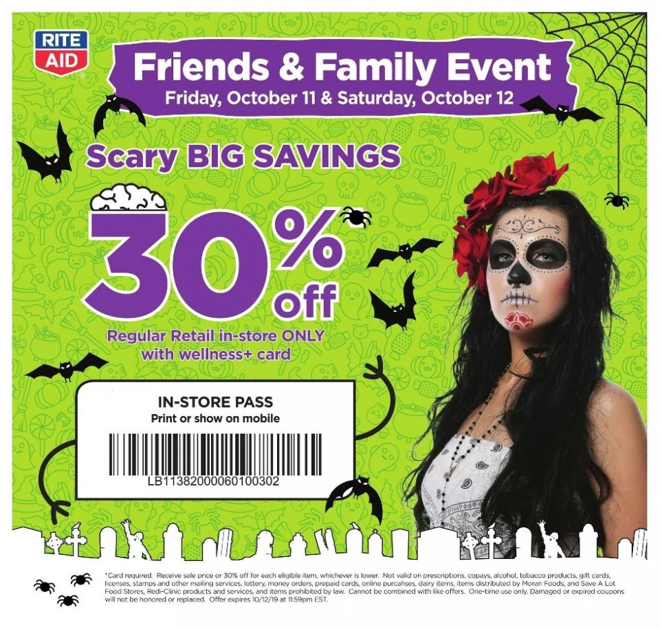 rite aid ad oct 6 12 2019 halloween