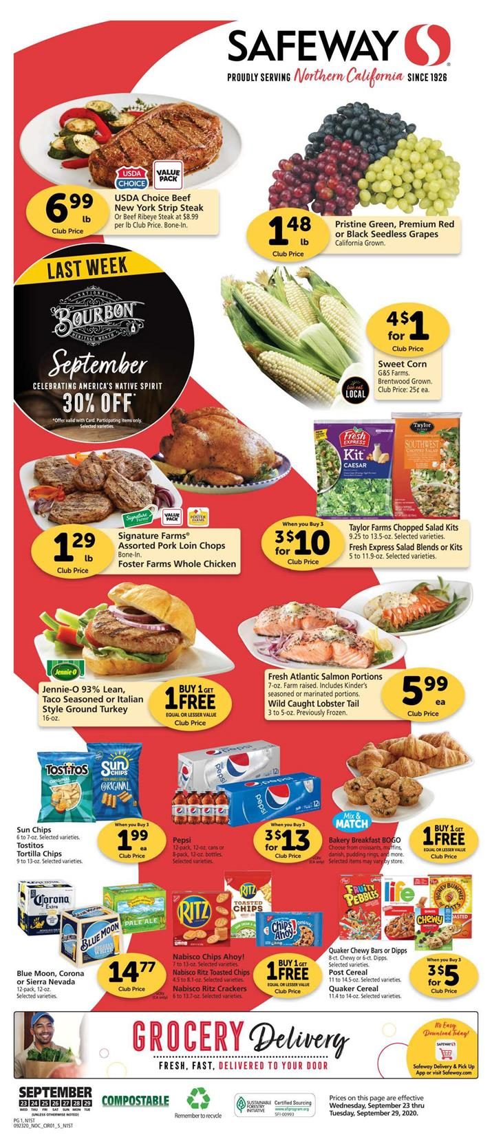 safeway weekly ad sep 23 2020