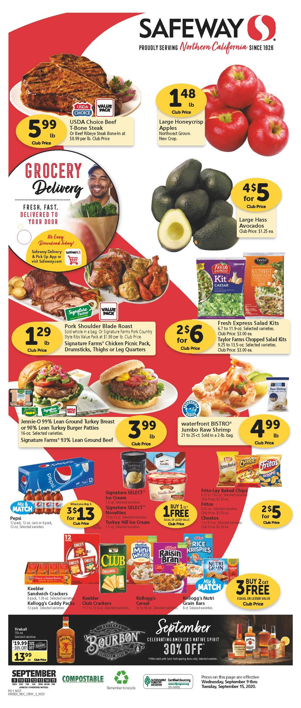 safeway weekly ad sep 9 2020