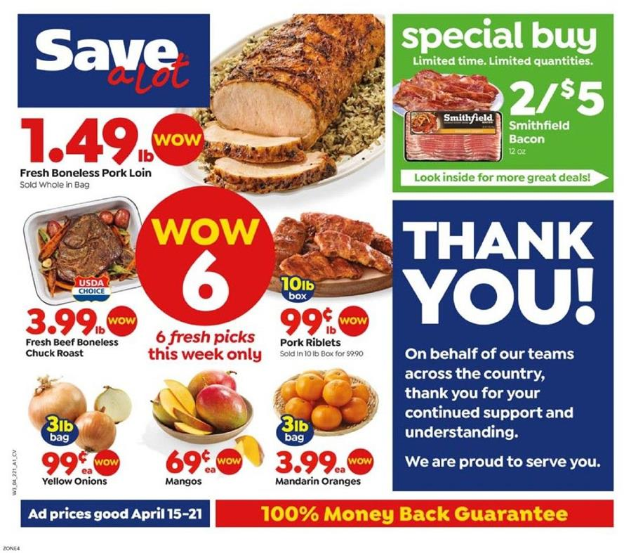 save a lot weekly grocery ad valid from apr 15 21 2020