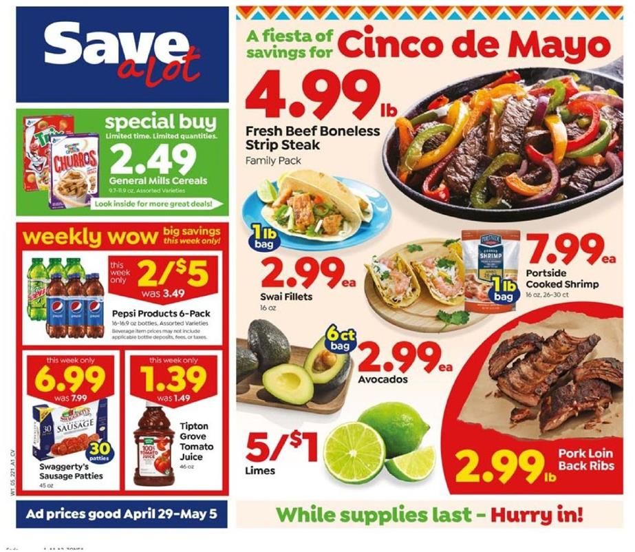 save a lot may weekly ad valid from apr 29 may 5 2020