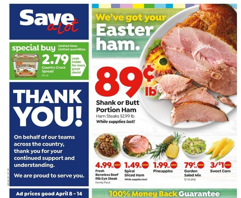 save a lot mid april weekly ad valid from apr 8 14 2020