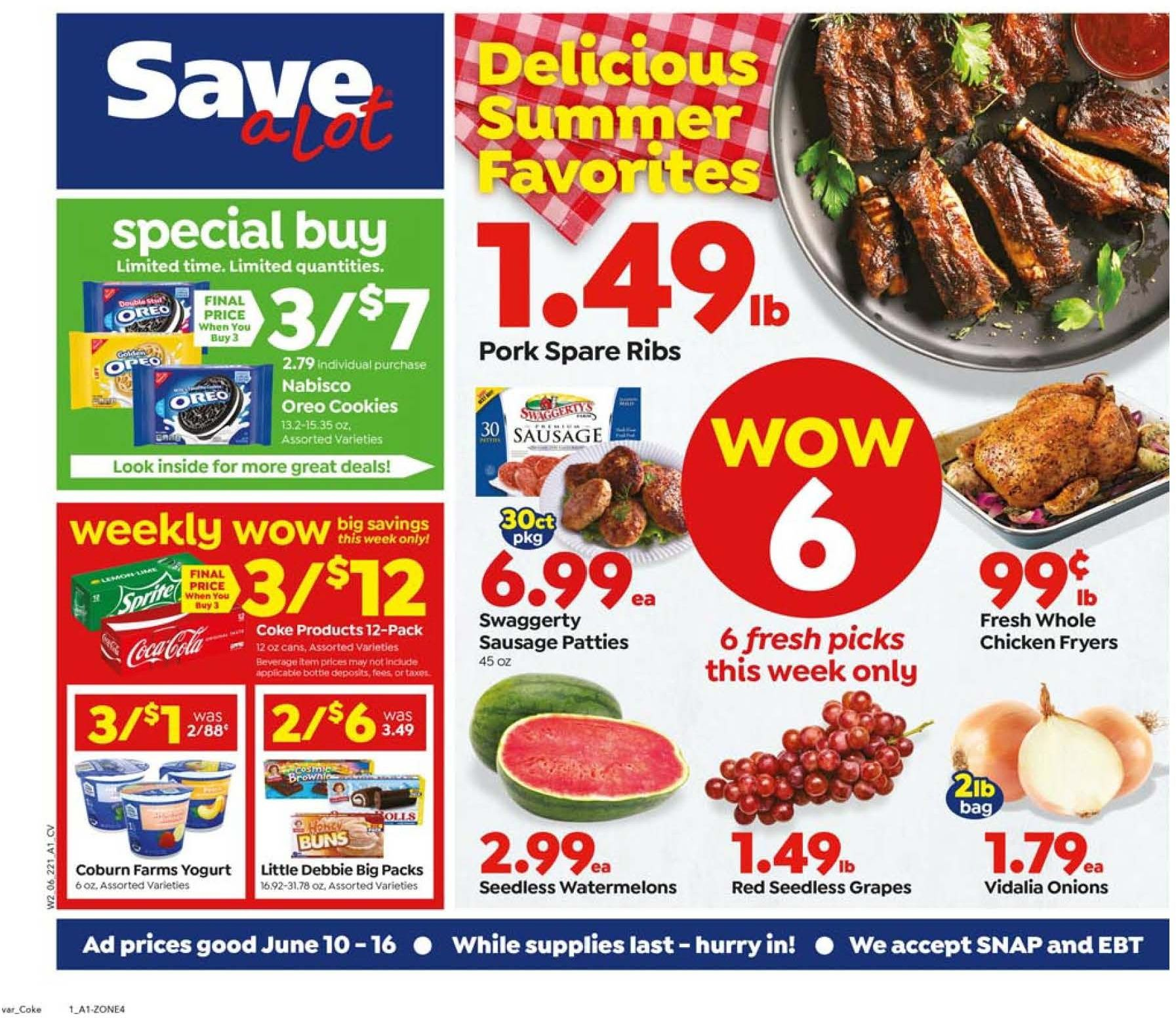 save a lot mid june weekly ad valid from jun 10 16 2020