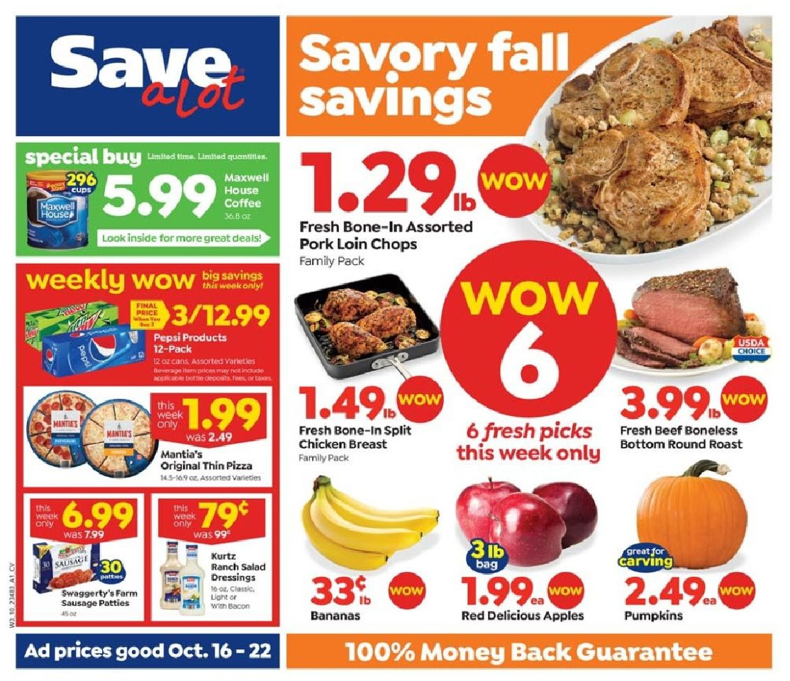save a lot ad oct 16 2019