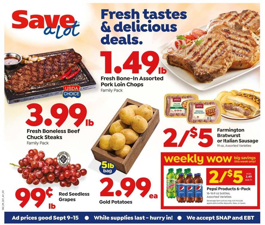 save a lot september weekly ad valid from sep 9 15 2020