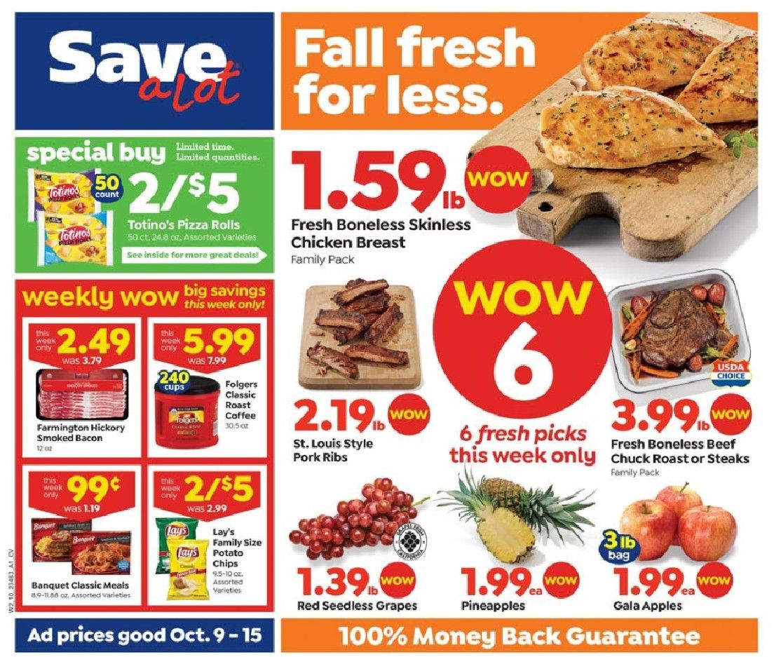 save a lot weekly ad oct 9 2019