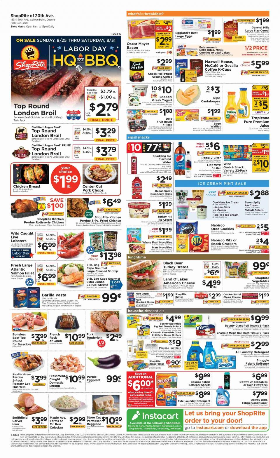 shoprite weekly ad aug 25 31 2019