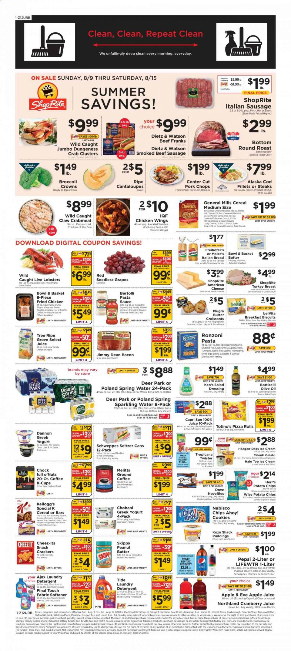 shoprite weekly ad aug 9 2020