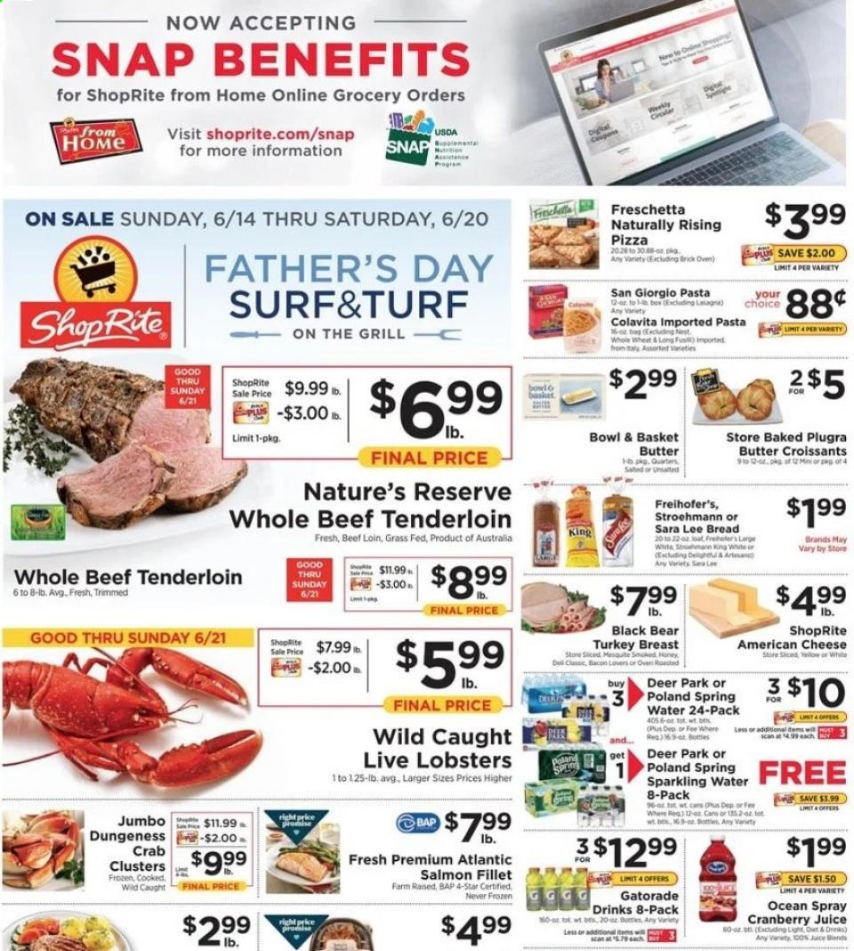 shoprite weekly mid june ad valid from jun 14 20 2020