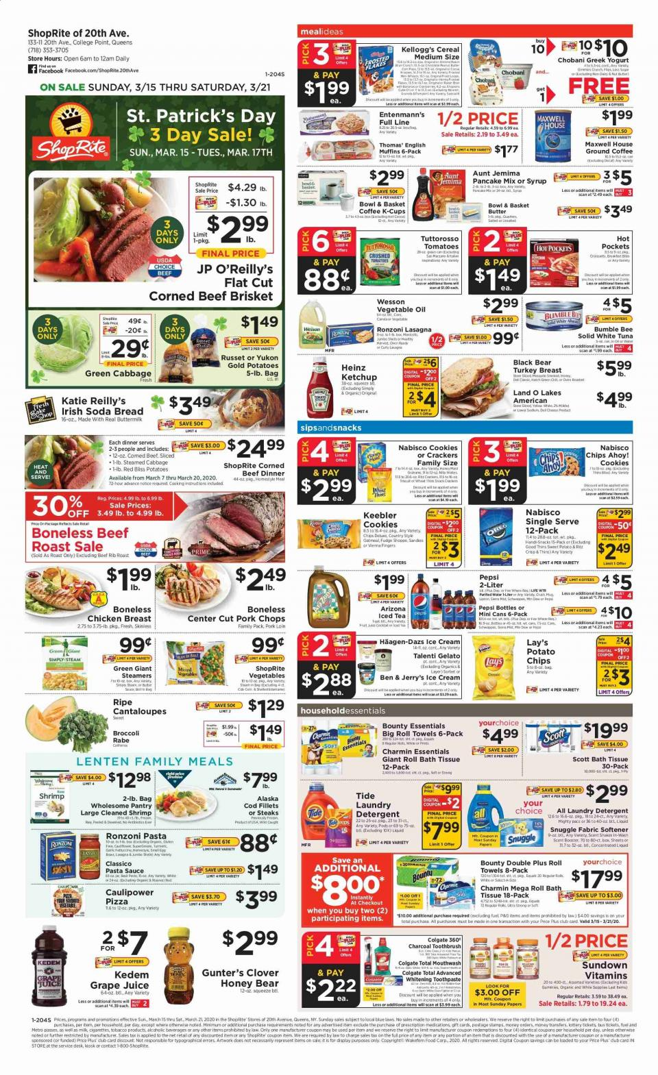 shoprite weekly ad mar 15 21 2020