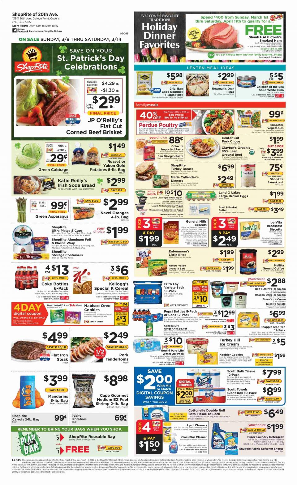 shoprite weekly ad mar 8 14 2020