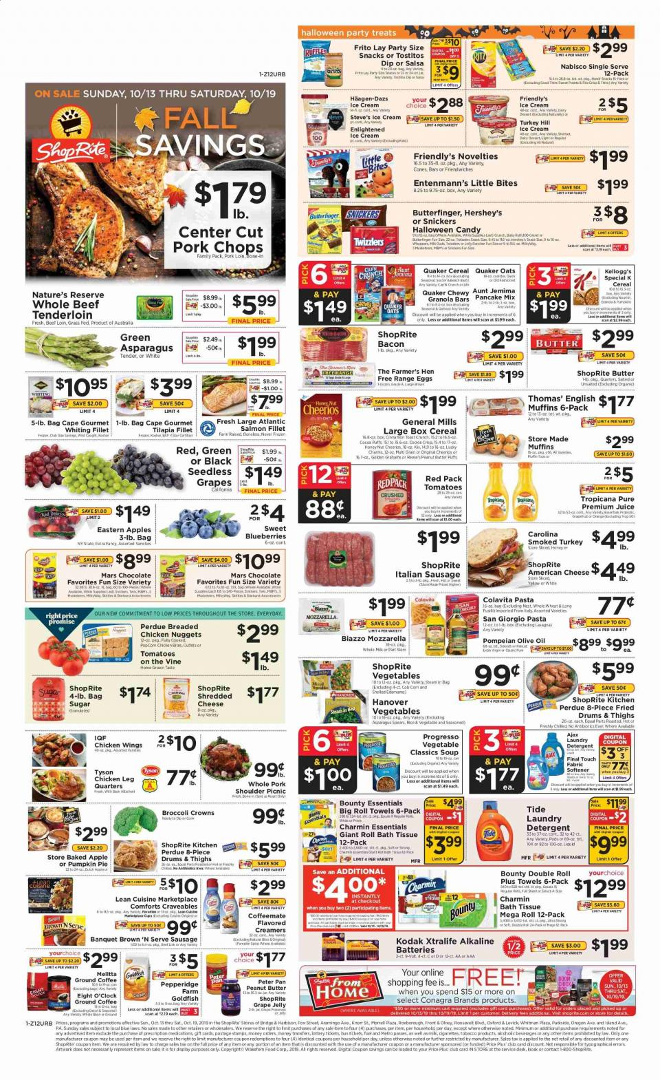 shoprite weekly ad oct 13 19 2019