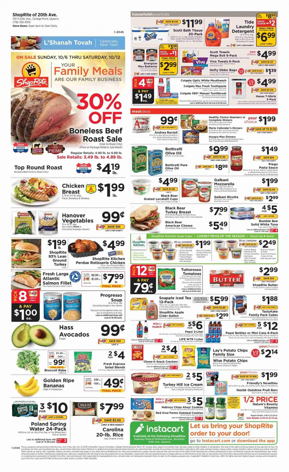 shoprite weekly ad oct 6 12 2019