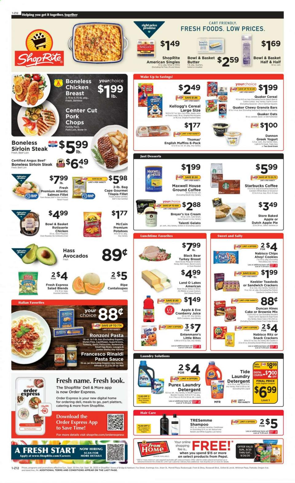 Shoprite Final Weekly September Ad valid from Sep 20 – 26, 2020