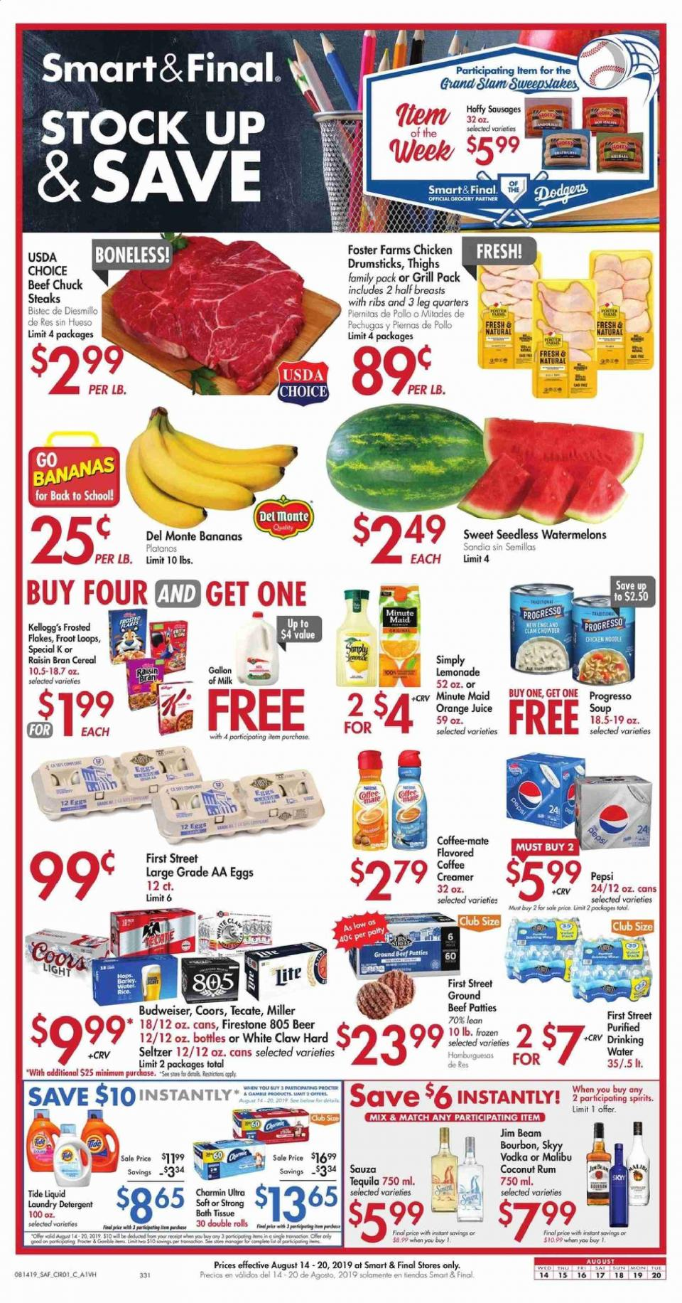 save money with smart and final weekly ad august 14 august 20 2019