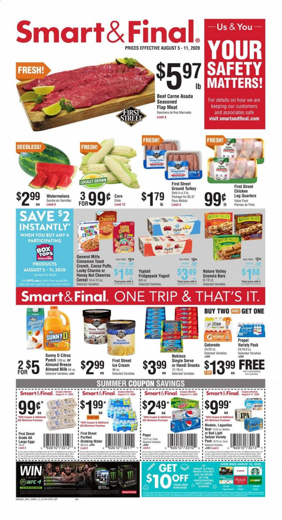 smart and final august weekly ad valid from aug 5 11 2020