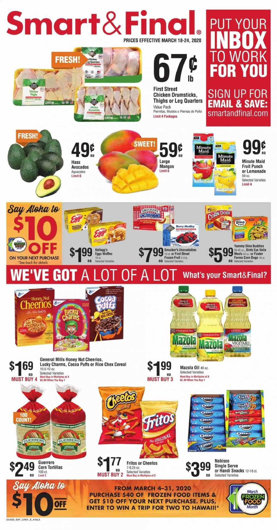 Smart and Final March Weekly Ad valid from Mar 18 – 24, 2020.