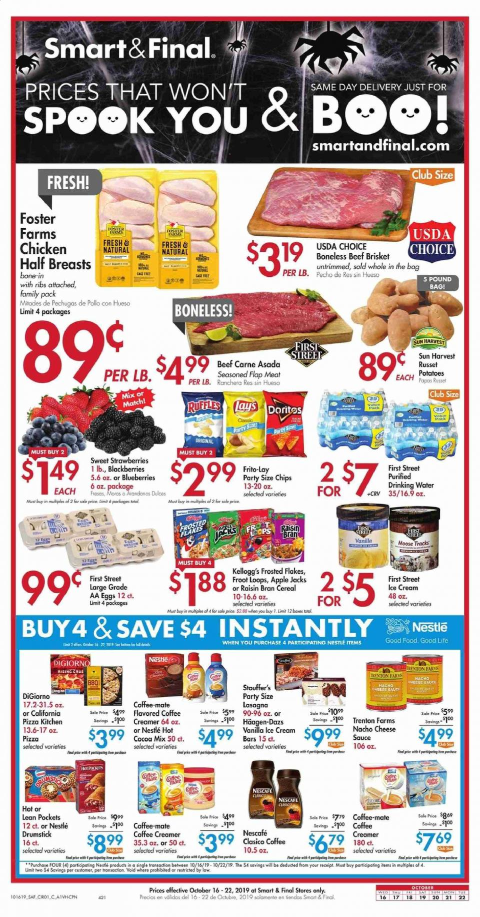 smart and final oct ad valid from 16 22 2019 buy 4 save 4 deals with
