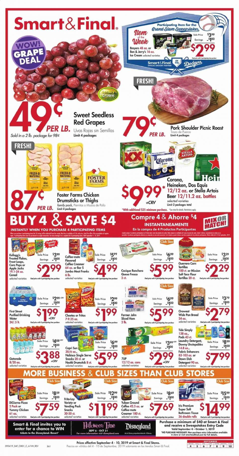buy more and spend less with new smart and final ad sep 4 10 2019