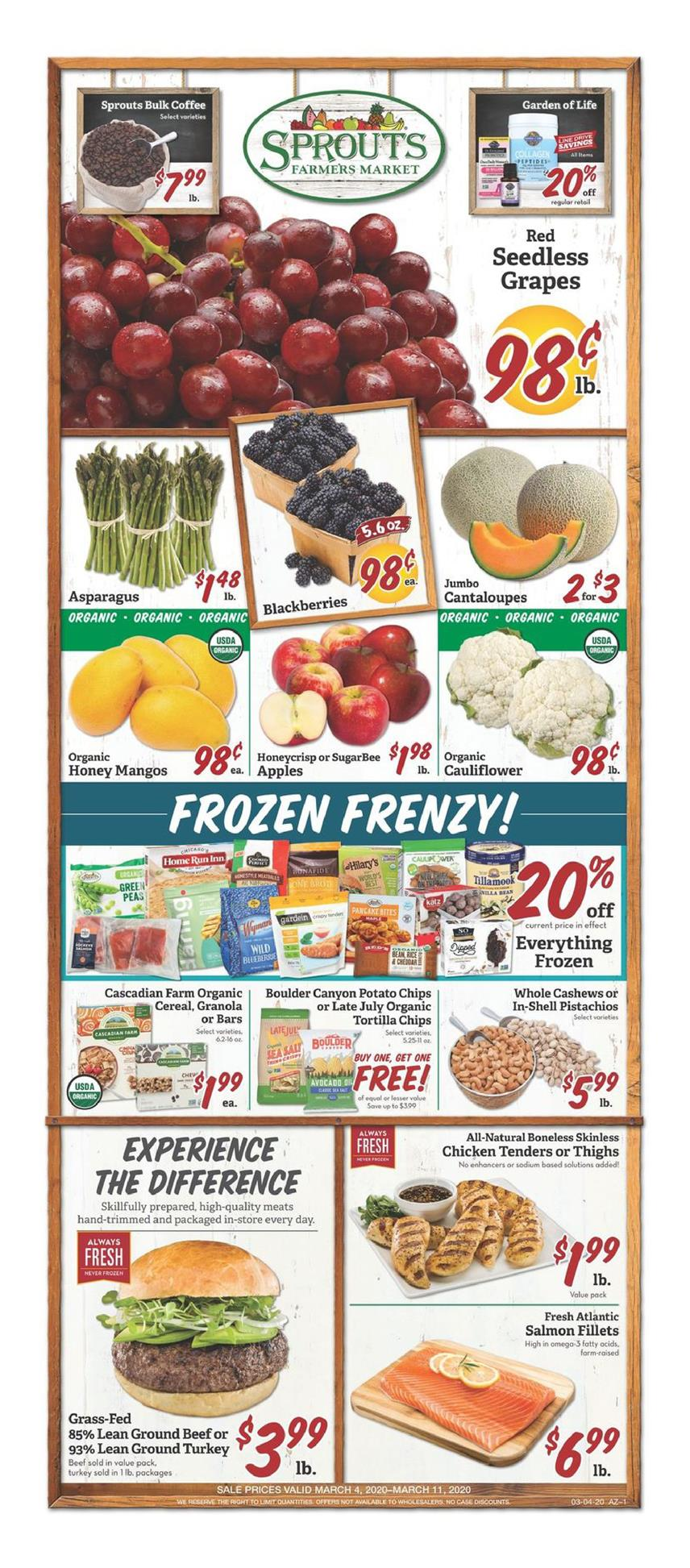 sprouts weekly ad mar 4 2020