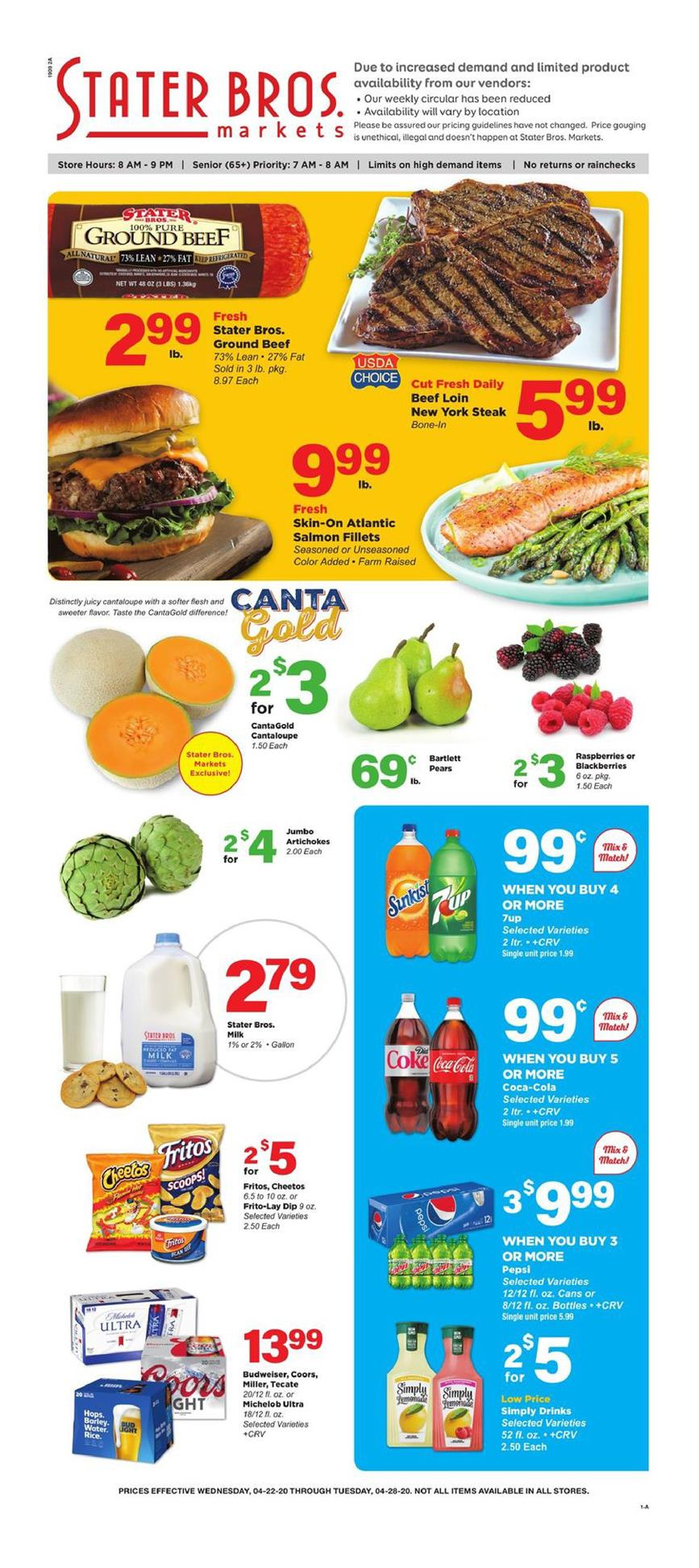 stater bros ad apr 22 2020