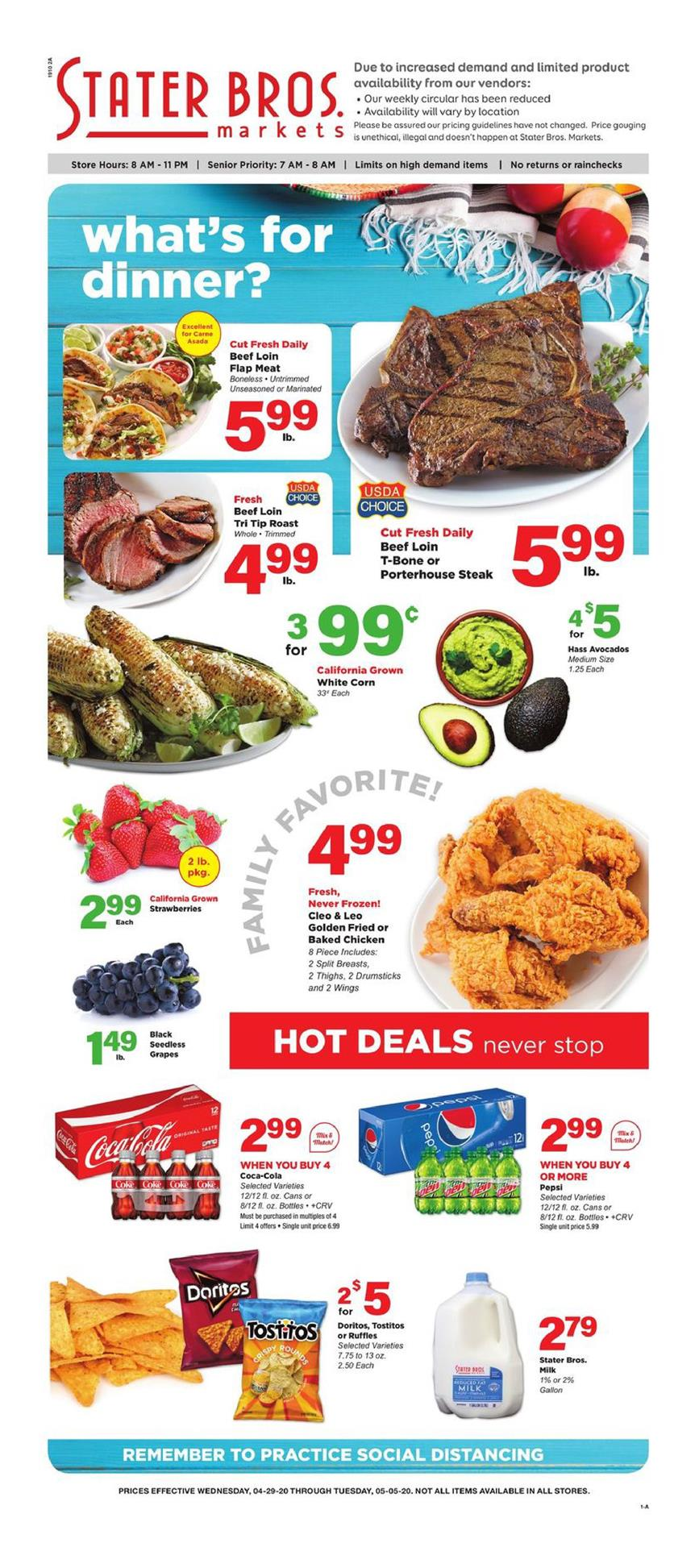 stater bros may weekly grocery ad valid from apr 29 may 5 2020