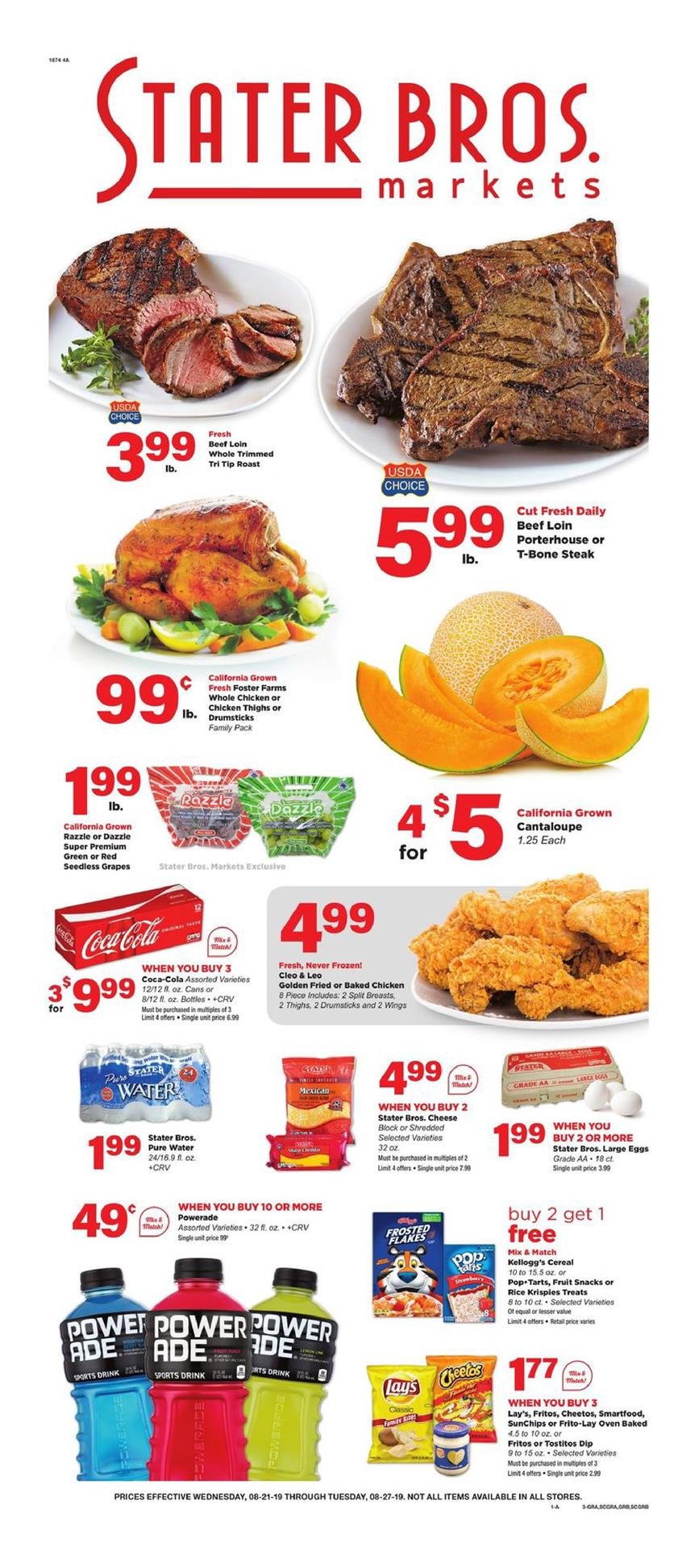 stater bros ad aug 21 2019