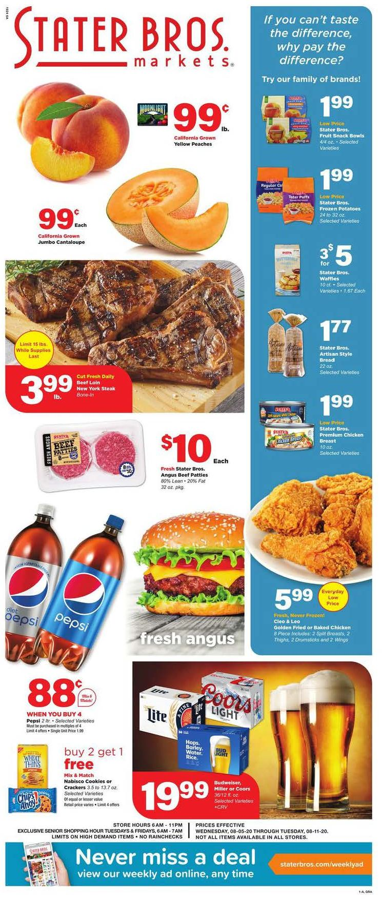 stater bros ad aug 5 2020
