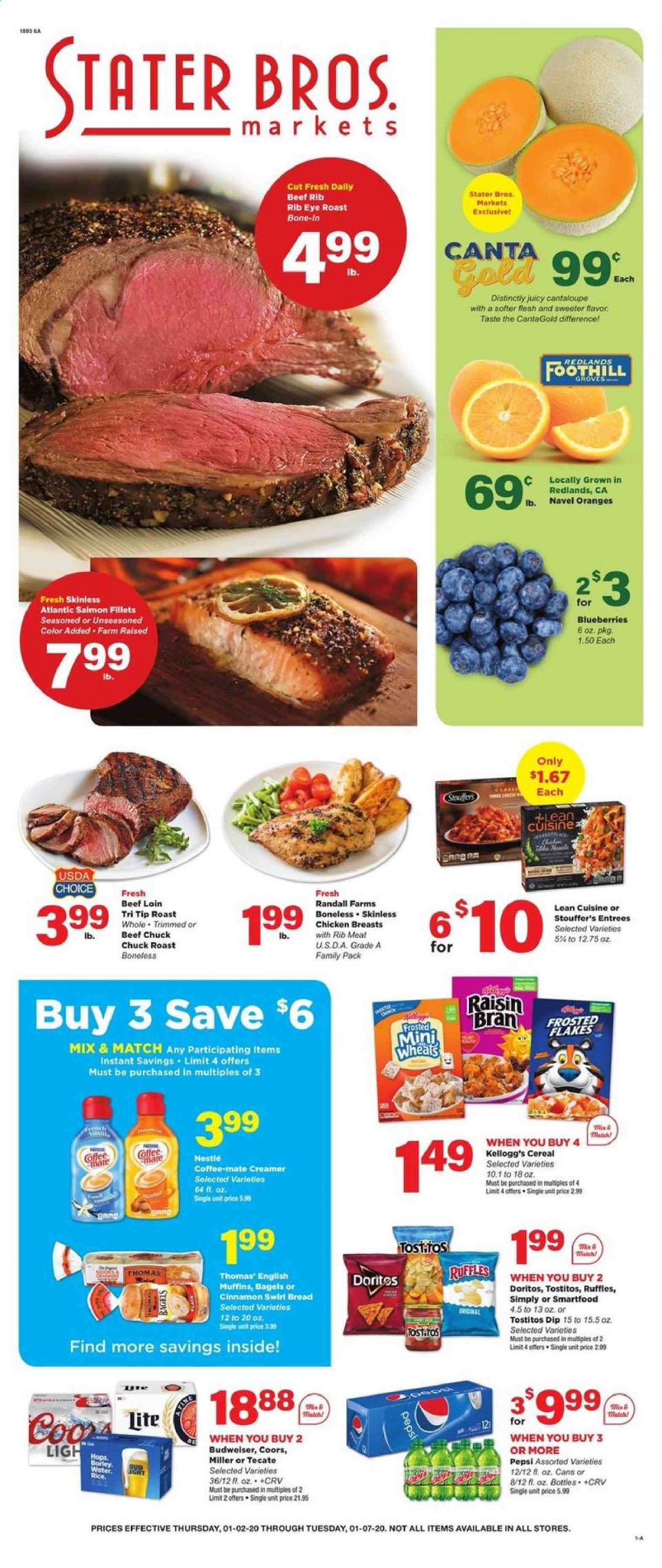 stater bros weekly january ad valid from jan 2 7 2020