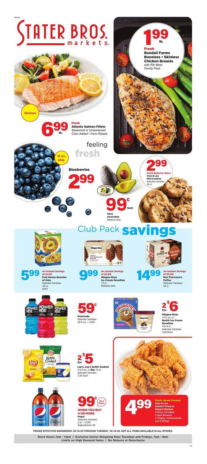 Stater Bros June Weekly Ad valid from Jun 10 – 16, 2020