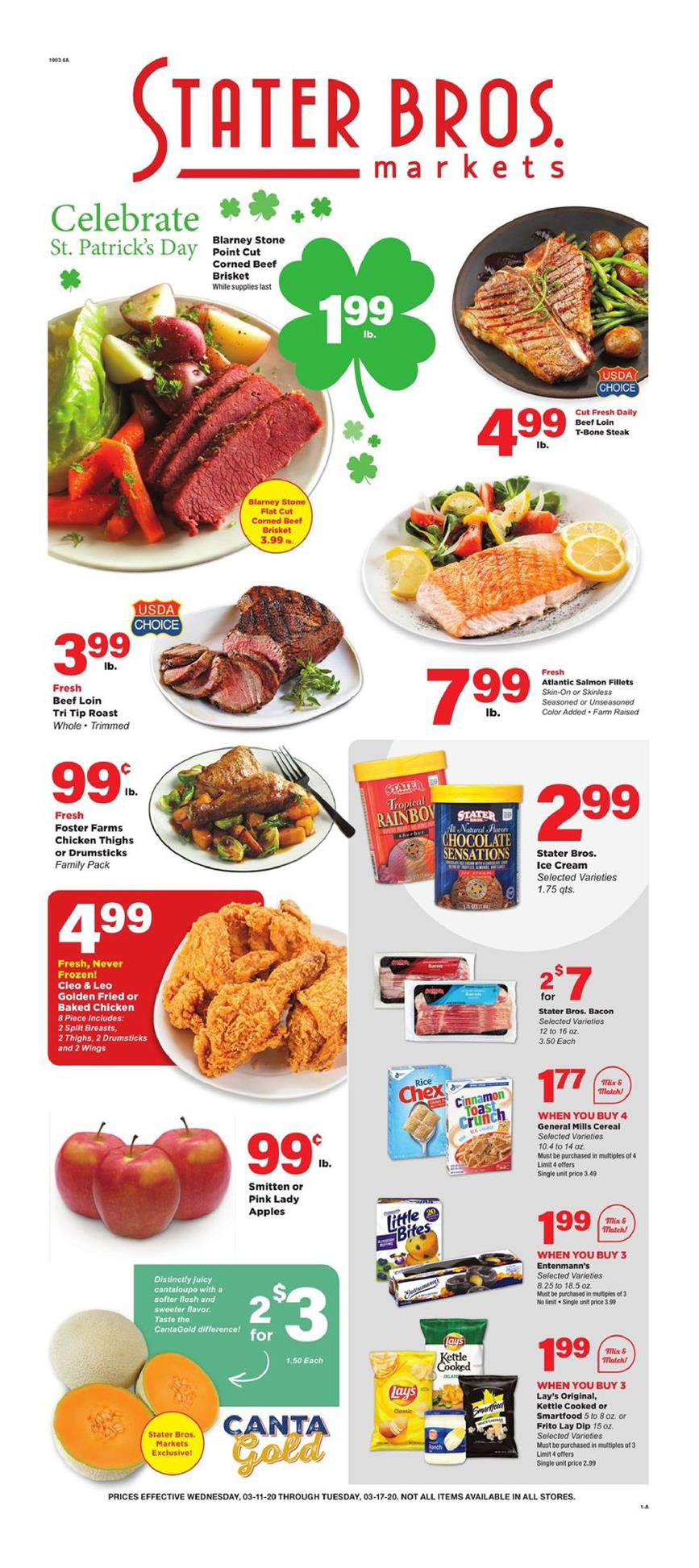 stater bros march ad valid from march 11 to 17 2020