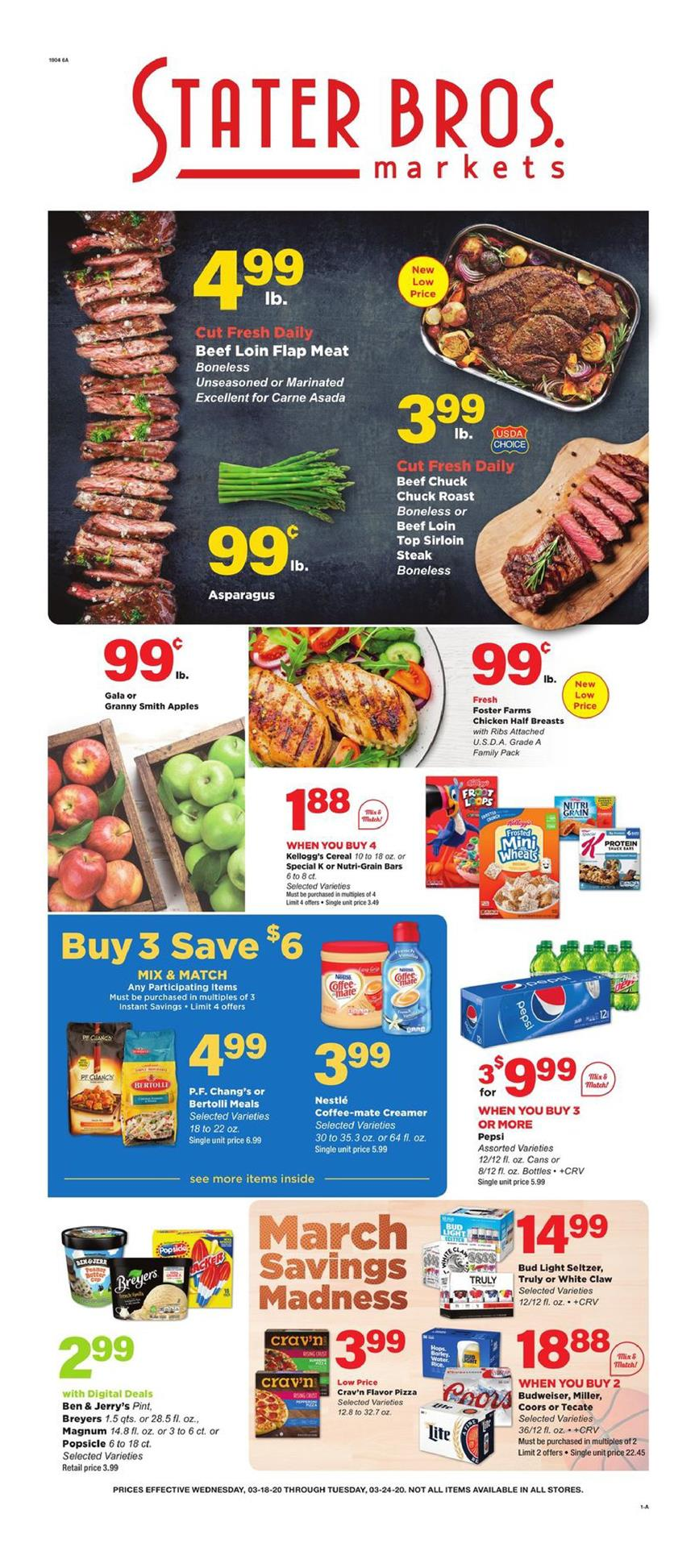 stater bros march grocery ad valid from mar 18 24 2020