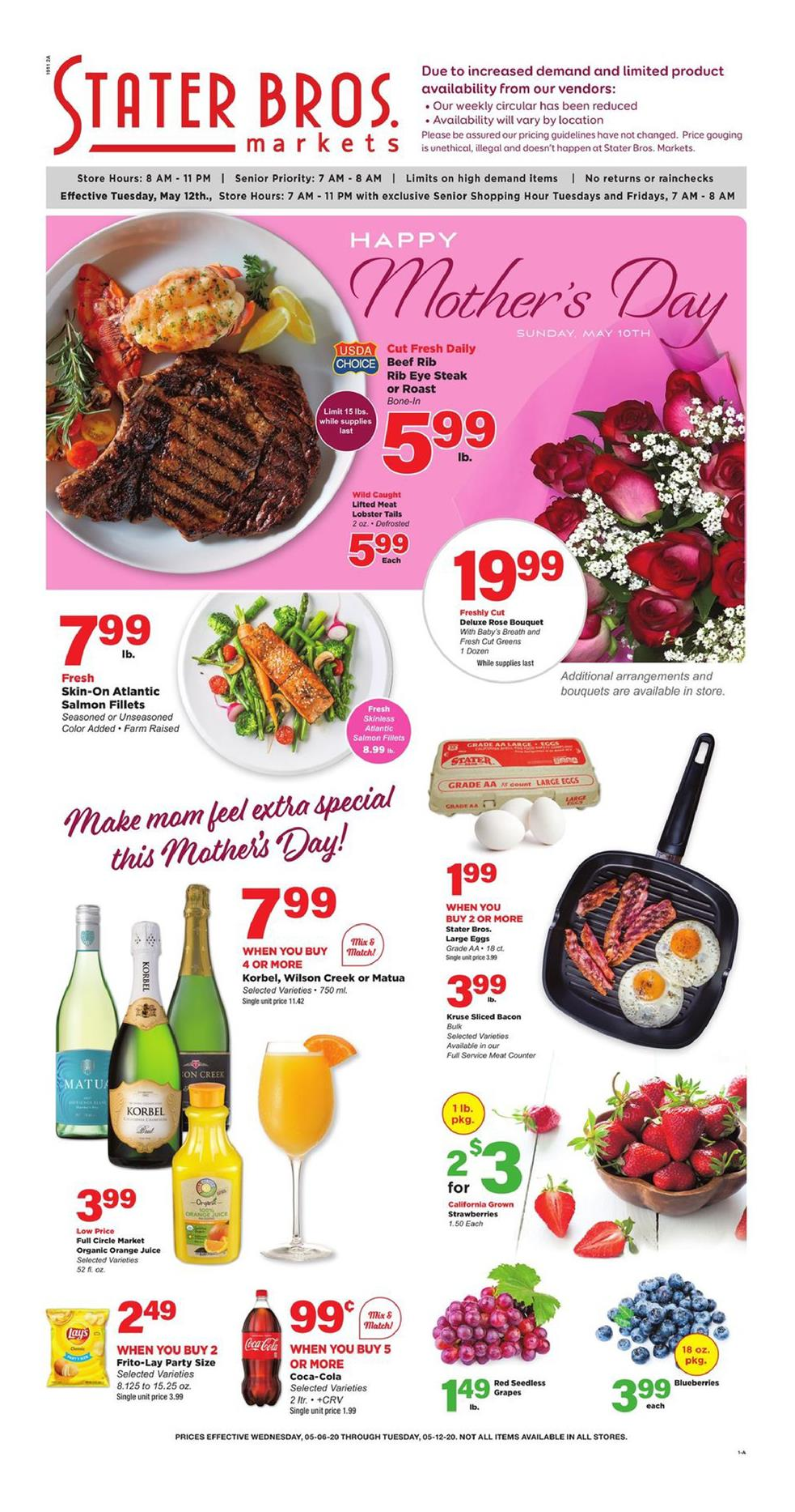 stater bros mid may weekly ad valid from may 6 12 2020