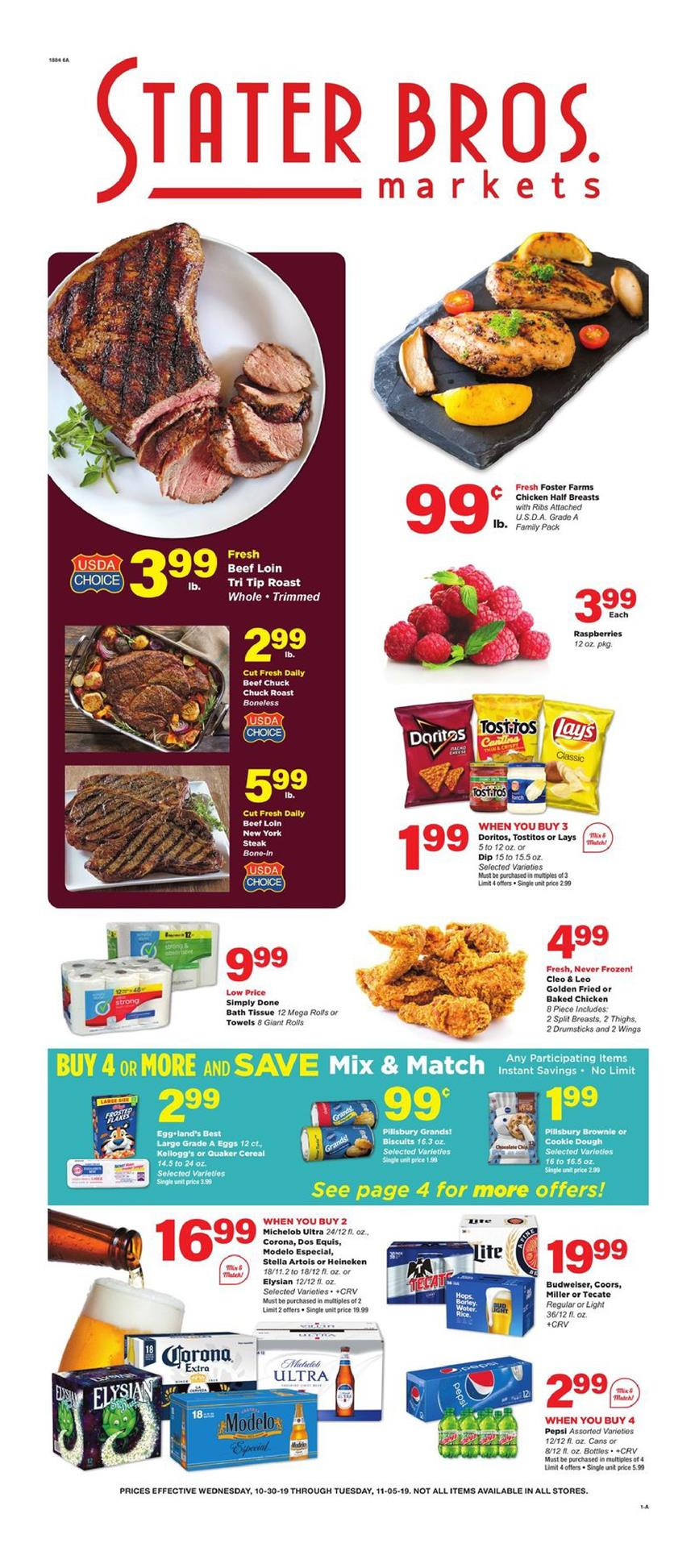 stater bros ad oct 30 2019