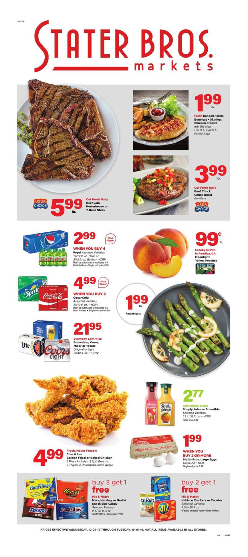 stater bros ad oct 9 2019
