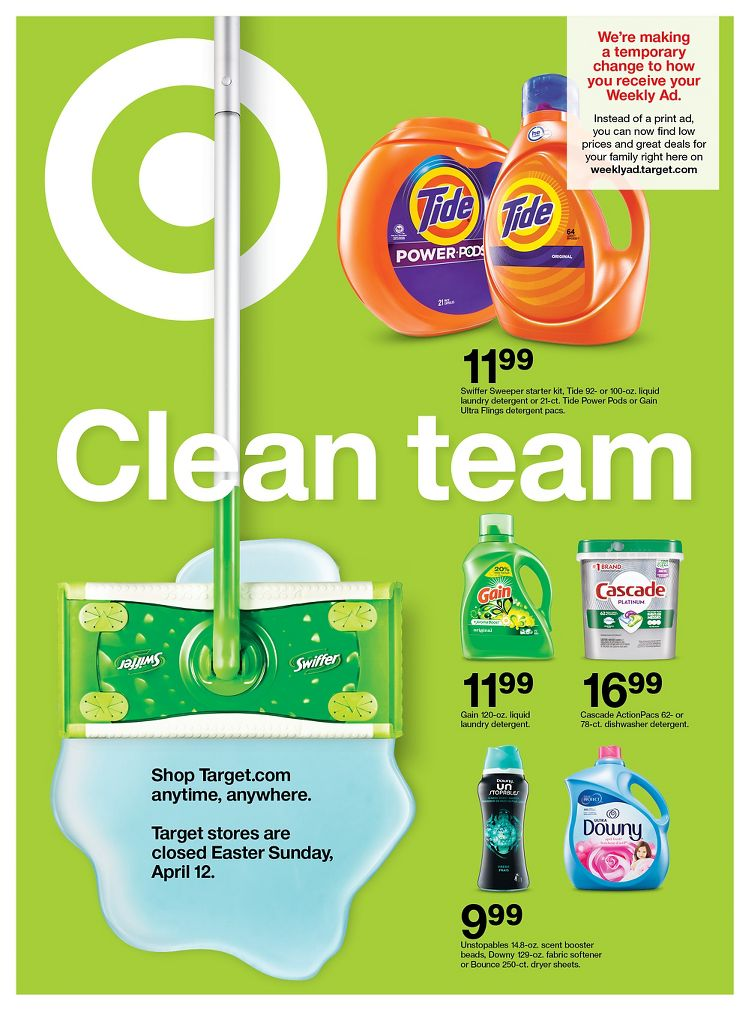 target cleaning products sale weekly ad valid from apr 12 18 2020