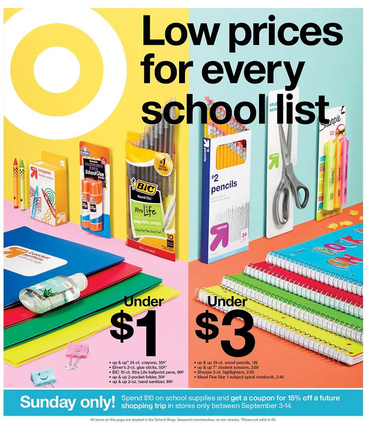 supermarket sale by target ad aug 25 31 2019