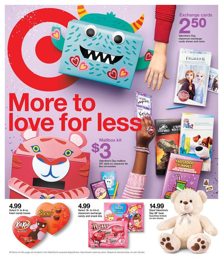 target weekly early february ad valid from feb 2 8 2020