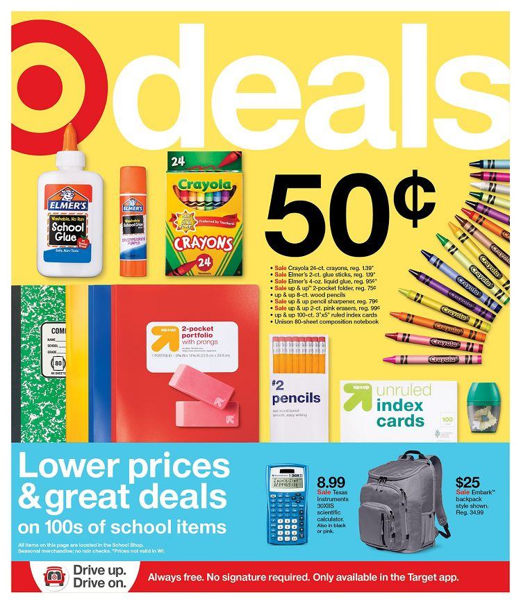 Target Mid-July Weekly Ad valid from Jul 12 – 18, 2020