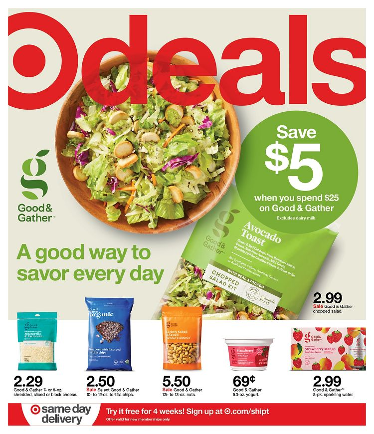Target June Weekly Ad valid from Jun 7 – 13, 2020