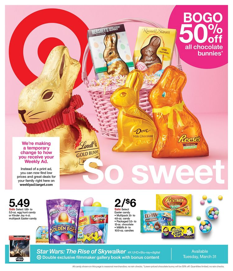 target easter products weekly ad valid from mar 29 apr 4 2020