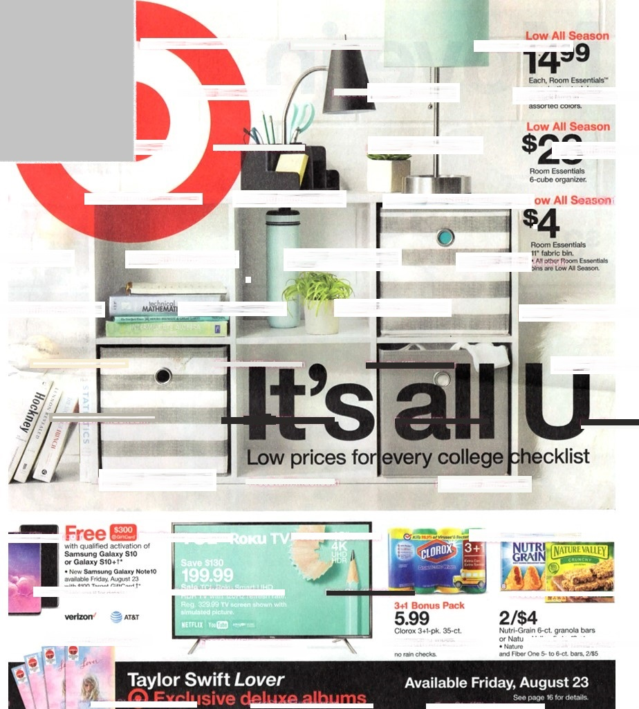 target weekly ad preview aug 18 2019